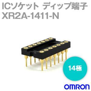 オムロン(OMRON) XR2A-1411-N 形XR2A オープンフレームタイプ ディップ端子 14極 (金メッキ0.25μm) NN|angelhamshopjapan