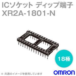 取寄 オムロン(OMRON) XR2A-1801-N 形XR2A オープンフレームタイプ ディップ端子 18極 (金メッキ0.75μm) (26個入) NN|angelhamshopjapan