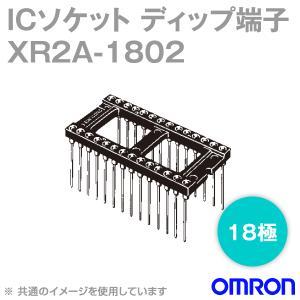 取寄 オムロン(OMRON) XR2A-1802 形XR2A オープンフレームタイプ ラッピング端子 18極 (金メッキ0.75μm) (26個入) NN|angelhamshopjapan