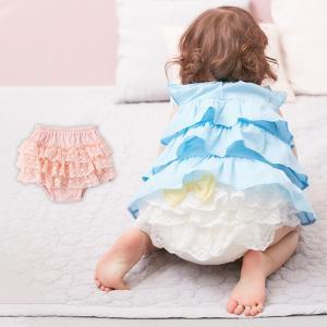 4c391d04c56c16 ベビー 服 ブルマ Kids zoo ふりふりブルマ 子供服 キッズ 女の子 おんなのこ かわいい おしゃれ 赤ちゃん フリフリ ふりふり