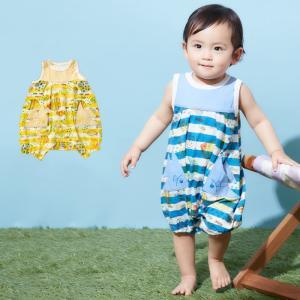 3aa468c676aaf ベビー 服 BIT Z ボーダーおさかなポケットロンパース ベビー服 おしゃれ 赤ちゃん ロンパース カバーオール 男の子 女の子 かわいい
