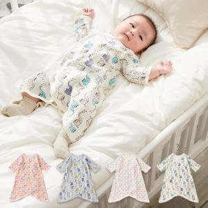 ベビー服 Ampersand コンビ肌着 男の子 女の子 おしゃれ かわいい 秋 冬 春 赤ちゃん 子供服 長袖 前開き 人気 出産祝い 新生児|angeliebe
