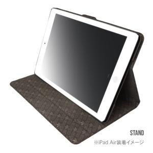 iPad Air2 ケース おしゃれ カバー スタンドケース おしゃれ ブランド adidas メンズ  3ストライプ|angelique-girlish|02