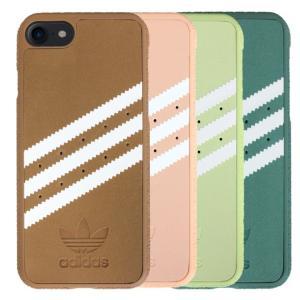 adidas アディダス iPhone7 ケース ブランド ハード スマホケース アイホン7 ケース suede スエード