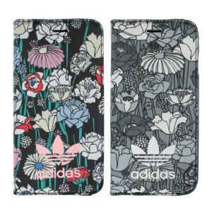 adidas アディダス iPhone7 手帳型ケース ブランド 手帳 アイホン7 ケース 花柄 Bohemian