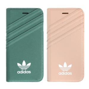 adidas アディダス iPhone7 手帳型ケース ブランド 手帳 アイホン7 ケース Suede スエード