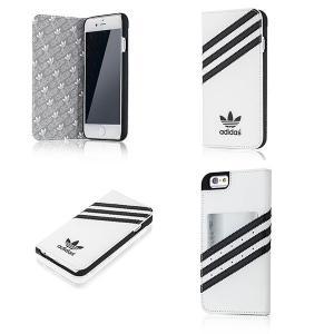 アディダス iPhoneケース iPhone6s 手帳型ケース おしゃれ ブランド アイフォン6ケース メンズ adidas 3ストライプ|angelique-girlish|02