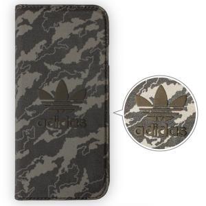 adidas アディダス iPhone6s iPhone6 アイホン6 手帳型ケース Camo Black ブランド