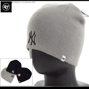 47 Brand ビーニー YANKEES '47 BEANIE KNIT/47ブランド ニットキャップ/ニット帽/NY/ヤンキース/|angelitta