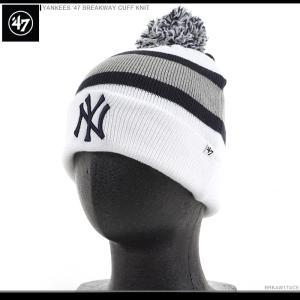 47 Brand ビーニー YANKEES '47 BREAKWAY CUFF KNIT/47ブランド ニットキャップ/ニット帽/NY/ヤンキース/|angelitta