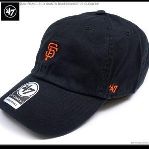 47 Brand キャップ スナップバック ジャイアンツ SAN FRANCISCO GIANTS BASERUNNER '47 CLEAN UP バックベルト キャップ|angelitta