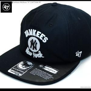 47 Brand キャップ Yankees McBess'47CaptainRF  スナップバック 47ブランド ヤンキース|angelitta