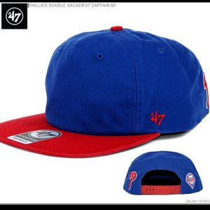 47Brand キャップ フィリーズ PHILLIES DOUBLE BACKER'47 CAPTAIN RF|angelitta