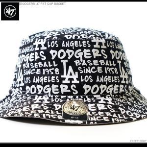 47Brand バケットハット DODGERS '47 FAT CAP BUCKET ドジャース|angelitta