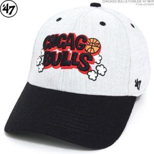 47 Brand キャップ CHICAGO BULLS シカゴ・ブルズ CHICAGO BULLS FOWLER '47 MVP ストラップバック ローキャップ|angelitta