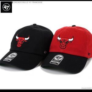 47 Brand キャップ 47 Brand NBAキャップ CHICAGO BULLS '47 FRANCHISE/47ブランド NBAキャップ/シカゴ・ブルズ/ボールキャップ/|angelitta