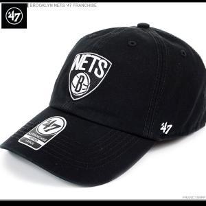 47 Brand キャップ 47 Brand NBAキャップ BROOKLYN NETS '47 FRANCHISE/47ブランド NBAキャップ/ブルックリン・ネッツ/ボールキャップ/|angelitta