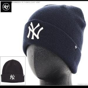 47 Brand ビーニー YANKEES '47 FUNGO CUFF KNIT/47ブランド ニットキャップ/ニット帽/NY/ヤンキース/|angelitta