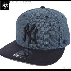 47 Brand キャップ ヤンキース スナップバック YANKEES GIOVANNI '47 CAPTAIN 47ブランド|angelitta