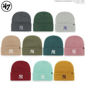 47 Brand ビーニー YANKEES '47 HAYMARKER CUFF KNIT/47ブランド ニットキャップ/ニット帽/NY/ヤンキース/|angelitta