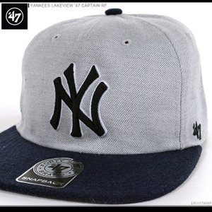 47 Brand キャップ YANKEES LAKEVIEW '47 CAPTAIN RF/47ブランド MLB キャップ/YANKEES/ニューヨーク/ヤンキース/|angelitta