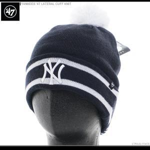 47 Brand ビーニー YANKEES '47 LATERAL CUFF KNIT/47ブランド ニットキャップ/ニット帽/NY/ヤンキース/|angelitta