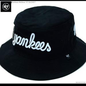 47 Brand ハット バケットハット Yankees McBess'47BUCKET 47ブランド ヤンキース|angelitta