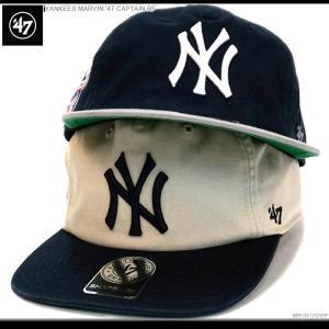 NYヤンキース キャップ 47Brand スナップバック  MLB 帽子|angelitta