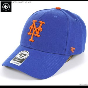 47 Brand キャップ METS HOMES '47 MVP/47ブランド バックベルト/MLB キャップ/METS/ニューヨーク/メッツ/|angelitta