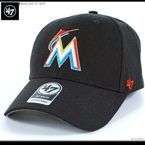 47 Brand キャップ MARLINS '47 MVP/47ブランド バックベルト/MLB キャップ/MARLINS/マイアミ/マーリンズ/|angelitta