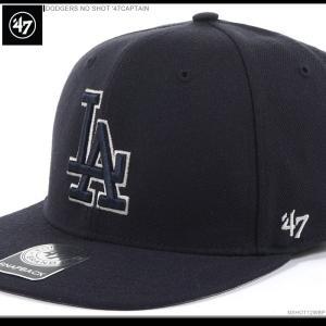 47 Brand キャップ ドジャース スナップバック DODGERS NO SHOT '47CAPTAIN 47ブランド|angelitta