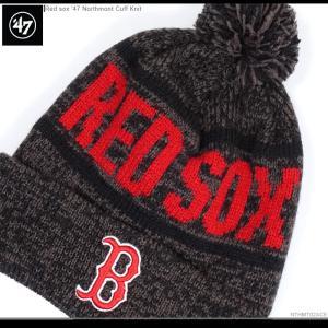 レッドソックス ニットキャップ 47Brand ビーニー ニット帽 MLB|angelitta