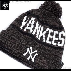 NYヤンキース ニット帽 47Brand キャップ ビーニー|angelitta