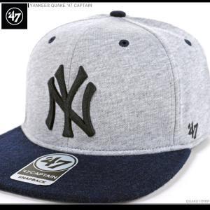 47 Brand キャップ YANKEES QUAKE '47 CAPTAIN/47ブランド MLB キャップ/YANKEES/ニューヨーク/ヤンキース/|angelitta