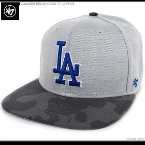 47 Brand キャップ DODGERS RECON CAMO '47 CAPTAIN/47ブランド MLB キャップ/DODGERS/ロサンゼルス/ドジャース/|angelitta