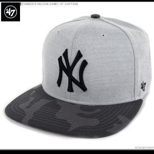 47 Brand キャップ YANKEES RECON CAMO '47 CAPTAIN/47ブランド MLB キャップ/YANKEES/ニューヨーク/ヤンキース/|angelitta