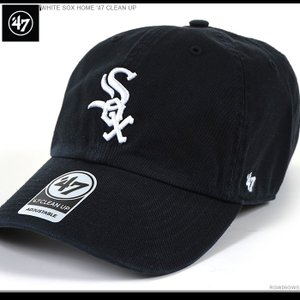 47 Brand キャップ ホワイトソックス バックベルト WHITE SOX HOME '47 CLEAN UP|angelitta