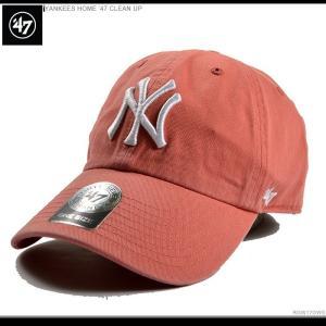 47 Brand スナップバック YANKEES HOME '47 CLEAN UP ヤンキース|angelitta