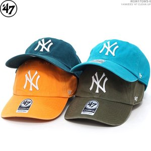 47 Brand キャップ フォーティセブン YANKEES '47 CLEAN UP ヤンキース ストラップバック|angelitta