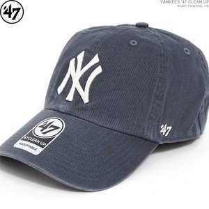 47 Brand キャップ YANKEES ヤンキース YANKEES '47 CLEAN UP ストラップバック ローキャップ/|angelitta