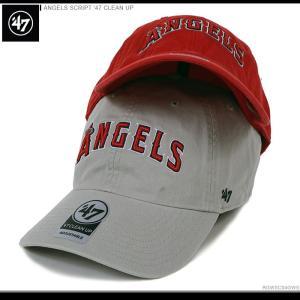 47 Brand エンゼルス キャップ 大谷翔平 ANGELS SCRIPT '47 CLEAN UP|angelitta