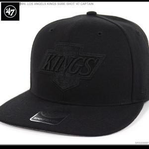 47 Brand キャップ キングス スナップバック LOS ANGELES KINGS SURE SHOT '47 CAPTAIN/47ブランド スナップバック/キングス/キャップ/|angelitta