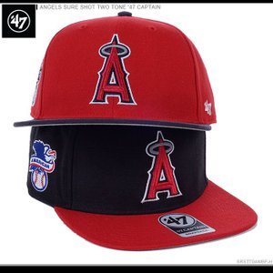 47 Brand エンゼルス キャップ 大谷翔平 ANGELS SURE SHOT TWO TONE '47 CAPTAIN|angelitta