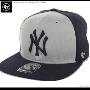 47 Brand キャップ ヤンキース スナップバック YANKEES SHURE SHOT ACCENT '47 CAPTAIN 47ブランド|angelitta