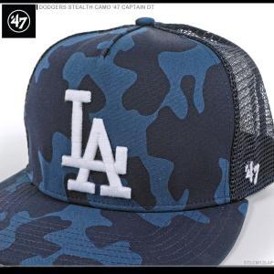 47 Brand キャップ DODGERS STEALTH CAMO '47 CAPTAIN DT/47ブランド MLB キャップ/TIGERS/ロサンゼルス/ドジャース/|angelitta