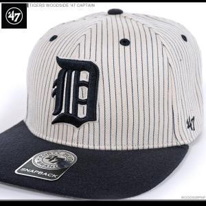47 Brand キャップ TIGERS WOODSIDE '47 CAPTAIN/47ブランド MLB キャップ/TIGERS/デトロイト/タイガース/|angelitta