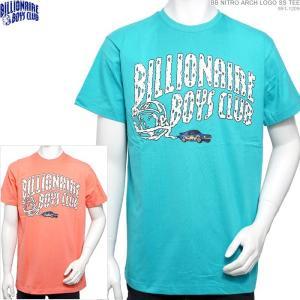 BILLIONAIRE BOYS CLUB 半袖Tシャツ セール BB NITRO ARCH LOGO SS TEE ビリオネア・ボーイズ・クラブ|angelitta