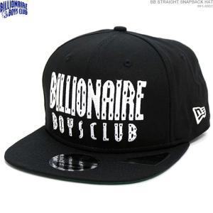 BILLIONAIRE BOYS CLUB スナップバック ストリート キャップ BB STRAIGHT SNAPBACK HAT ニューエラ|angelitta