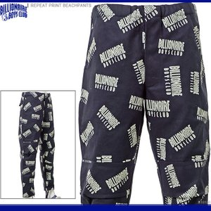 BILLIONAIRE BOYS CLUB ビリオネアボーイズクラブ ビーチパンツ REPEAT PRINT BEACHPANTS|angelitta
