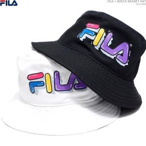 フィラ ハット バケットハット FILA × SHETA BACKET HAT 男女兼用|angelitta